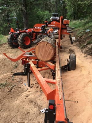 Image Portable Sawmill Services Equipment